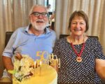 Jimmie & Mary celebrate 50 years of marriage